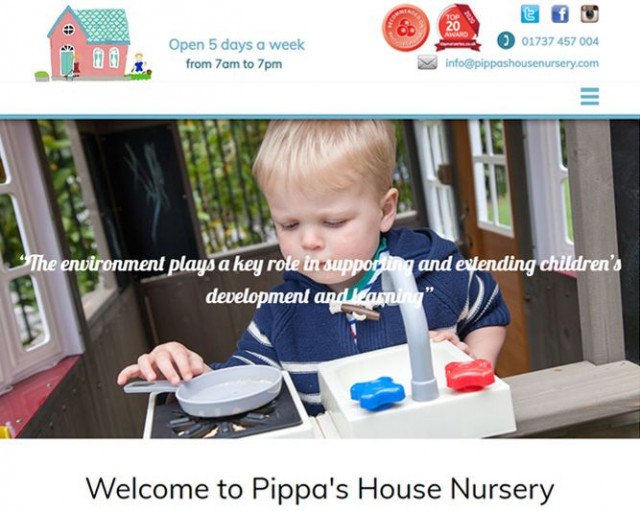 We're pleased to introduce the new website for @PippasHouse Nursery - www.pippashousenursery.com! We got their business site back up and running again by replacing an old site quickly. #newwebsite #webdesign #Reigate #businesswebsite