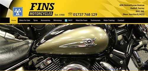 Fins Motorcycles