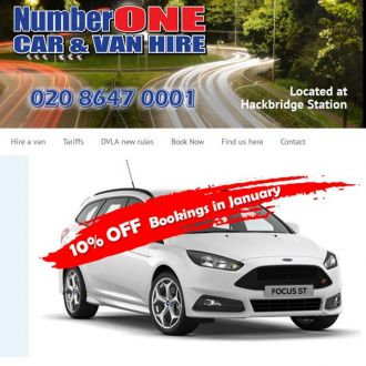 Number One Car And Van Hire
